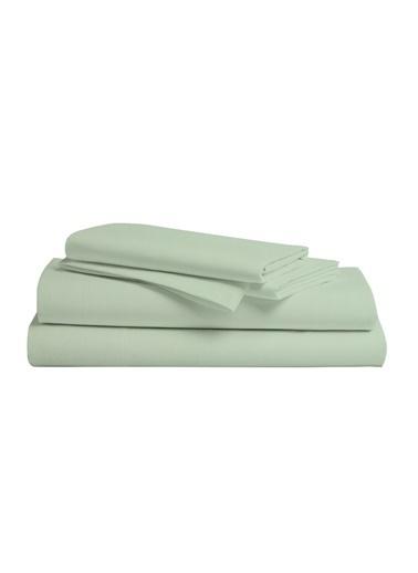 Hibboux Dream Pure Tek Kişilik Çarşaf Seti - ICEBERG GREEN Renkli